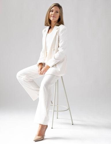 Portrait de Céline Talabaza, CEO de Noble Panacea.