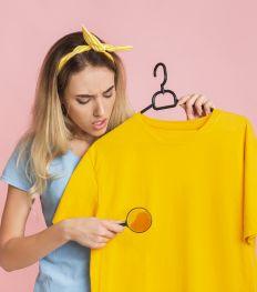 10 astuces naturelles pour enlever des tâches sur des habits