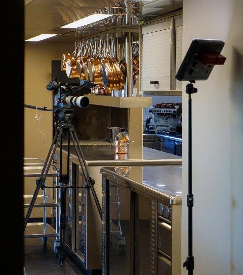 On a assisté à un tournage avec un chef étoilé belge