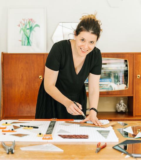 La fille du vendredi : Noor Springael, créatrice de Glas & Glas, un e-shop dédié à l'art verrier