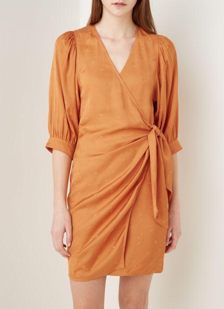 sams-e-sams-e-mini-robe-portefeuille-celestina-a-motif-jacquard