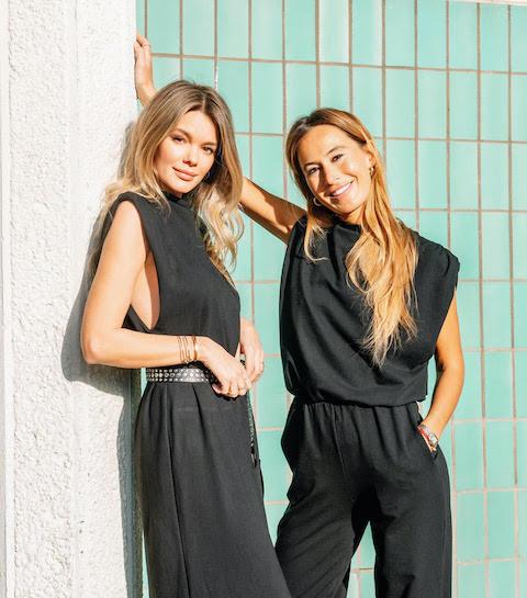 Les filles du vendredi : Claudia et Noémie, fondatrices de la marque d'activewear A-TYPIQ