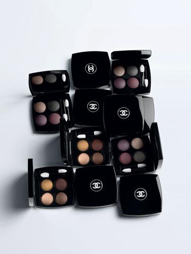 2 nouvelles palettes d'ombres à paupières viennent compléter cette collection Chanel.