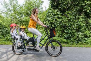 Accompagner ses enfants en vélo