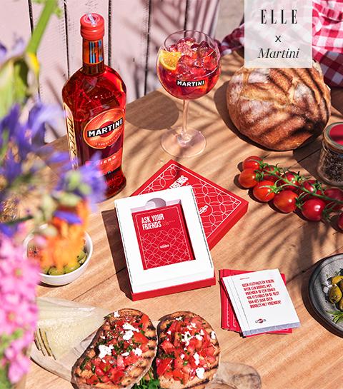 Remportez le nouveau jeu de cartes « Ask your friends » de Martini pour en savoir plus sur vos amis