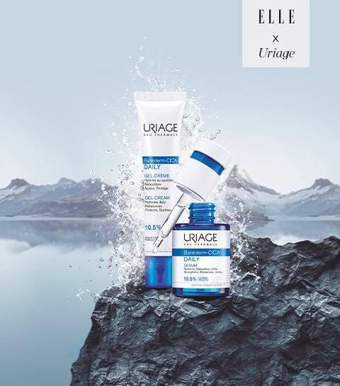 Gagnez des soins Uriage pour une peau profondément hydratée