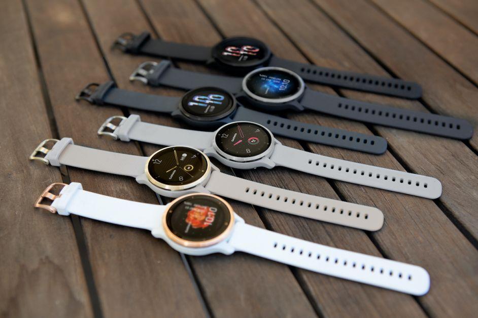 Collection Garmin montres connectées