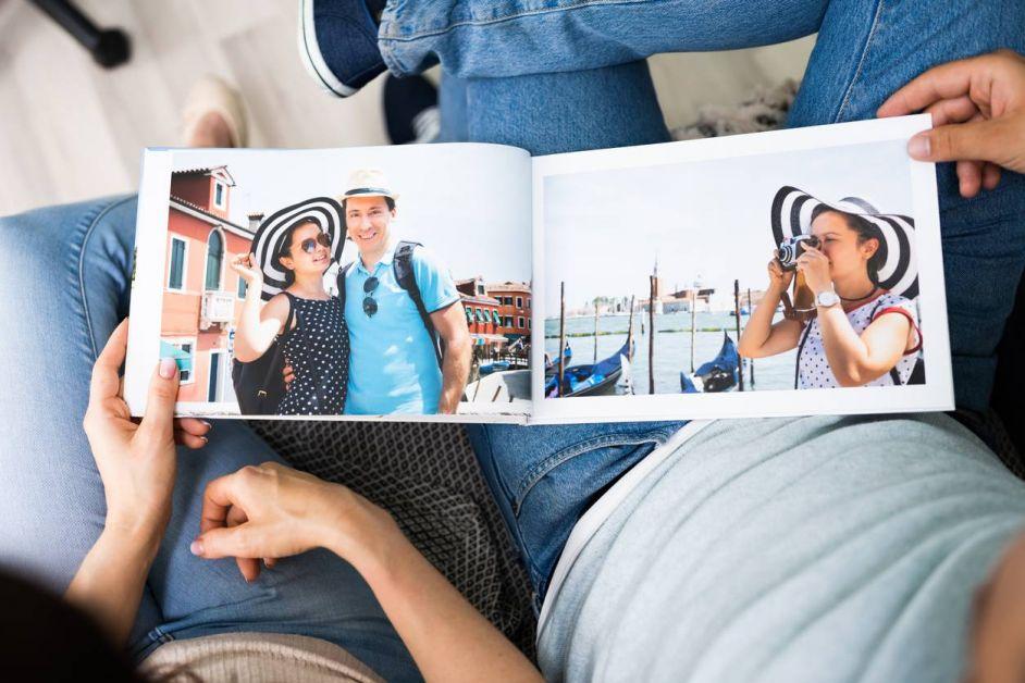 livre photo de vacances pour immortaliser les souvenirs
