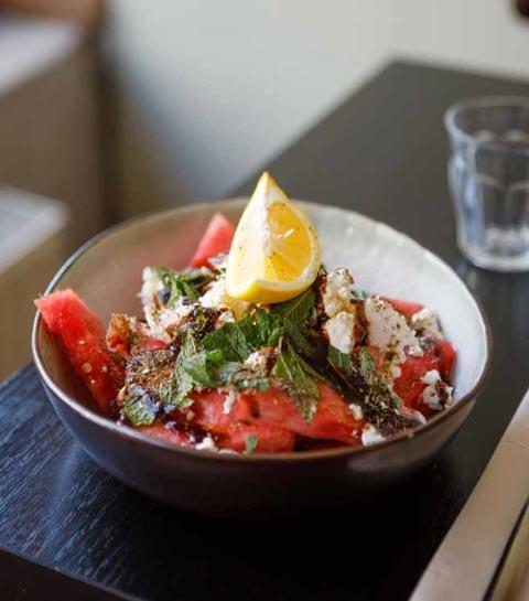 RECETTE : salade de pastèque à la feta by Simona