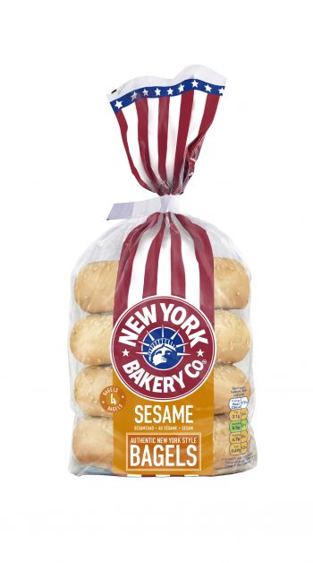 The New York Bakery Co. sesame bagels