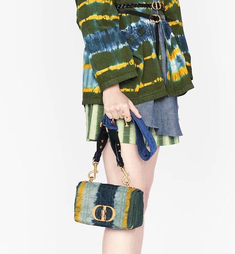 Tie &dye Dior Caro Bag
