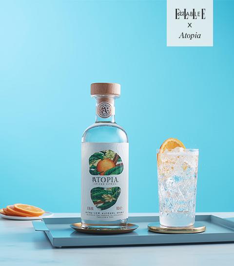Un délicieux cocktail d'été très faiblement alcoolisé