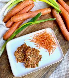 Les galettes carottes et bacon d'Happy Nutri Coach