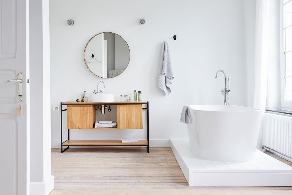 salle de bain blanche seize avenue