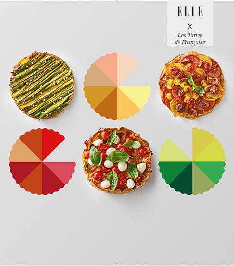 Concours : organisez votre propre buffet coloré d'été avec Les Tartes de Françoise