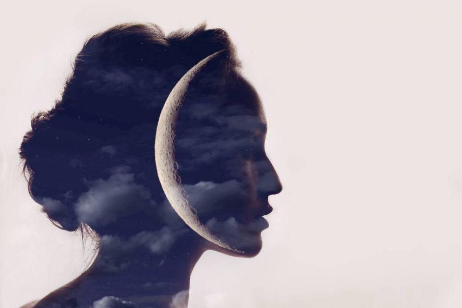 féminin sacré femme lune