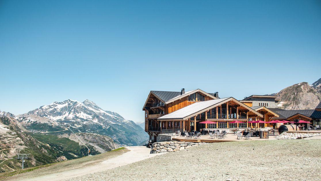 Le refuge de solaise Val D'Isère