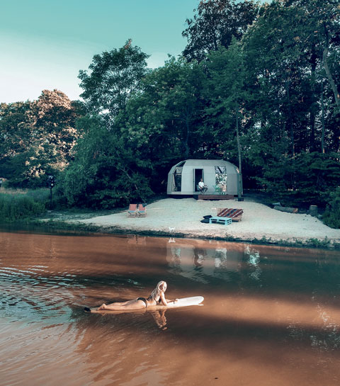Lieu insolite : la Beach Tortiga en Flandre-Orientale