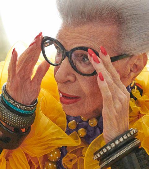 Breaking news : la prochaine collaboration d'H&M se fera avec Iris Apfel