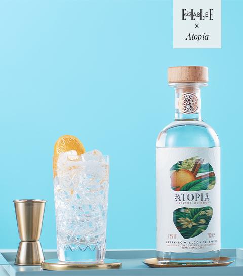 ATOPIA : La savoureuse boisson très faiblement alcoolisée, figure de proue de la tendance NOLO
