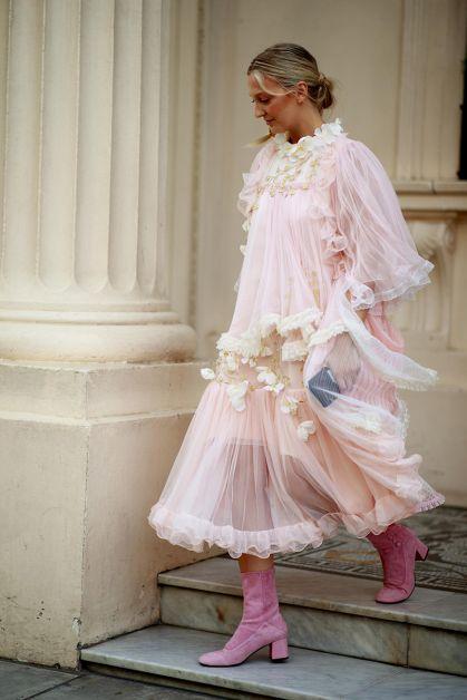 Streetstyle : les plus beaux looks de la Fashion Week de Londres - 2