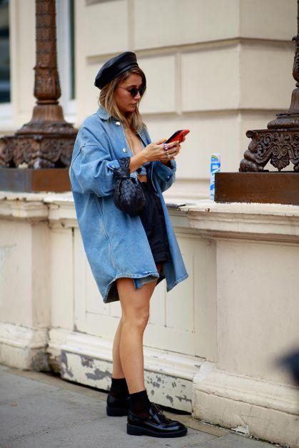 Streetstyle : les plus beaux looks de la Fashion Week de Londres - 3