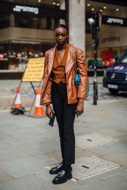 Streetstyle : les plus beaux looks de la Fashion Week de Londres - 8