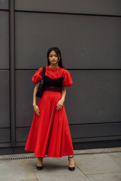 Streetstyle : les plus beaux looks de la Fashion Week de Londres - 9