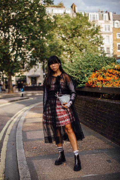 Streetstyle : les plus beaux looks de la Fashion Week de Londres - 17