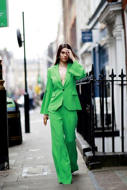 Streetstyle : les plus beaux looks de la Fashion Week de Londres - 18