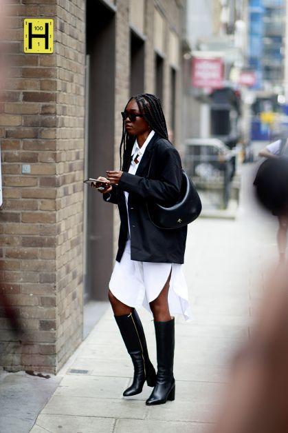 Streetstyle : les plus beaux looks de la Fashion Week de Londres - 19
