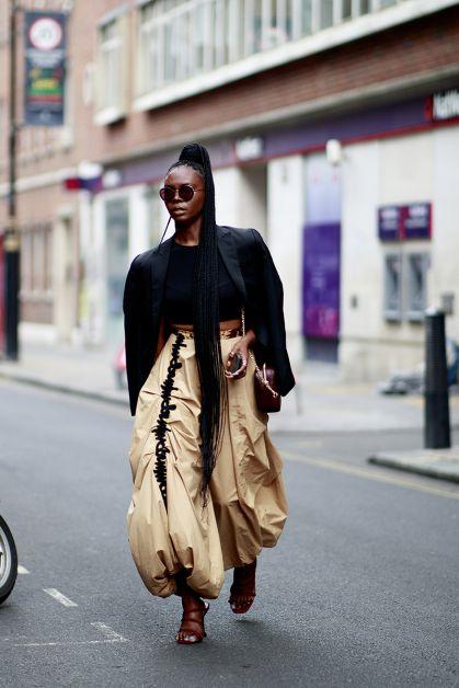 Streetstyle : les plus beaux looks de la Fashion Week de Londres - 21
