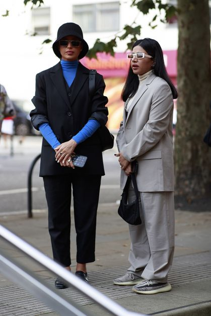 Streetstyle : les plus beaux looks de la Fashion Week de Londres - 43