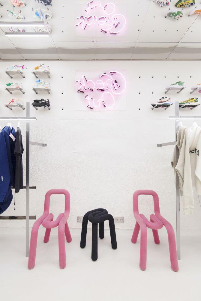 Intérieur shop