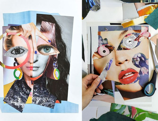 Affordable Art Fair 2021: woon een collageworkshop van kunstenares Veerle Symoens bij - 3