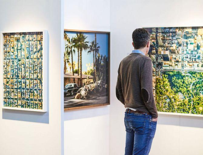 Affordable Art Fair 2021: woon een collageworkshop van kunstenares Veerle Symoens bij - 1