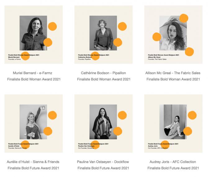 finalistes bold woman award