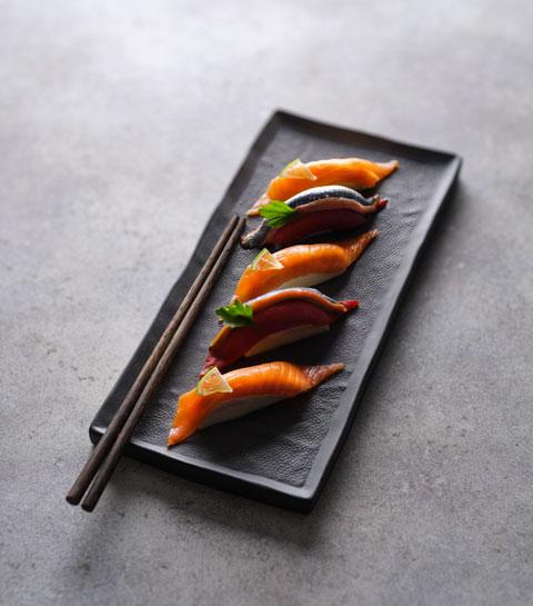 sushi shop collab
