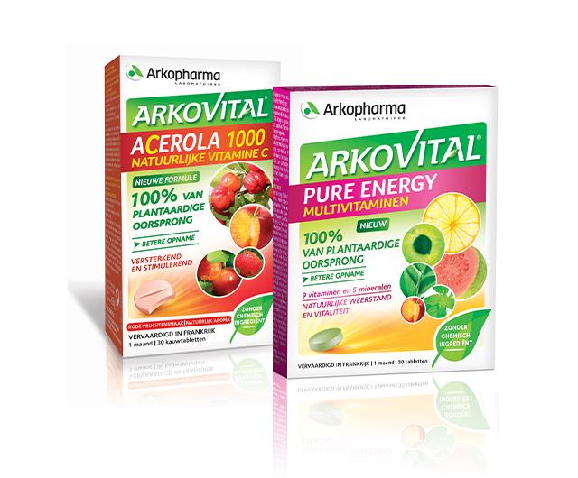 Arkovital Multivitaminen, Acerola 1000 Natuurlijke Vitamine C