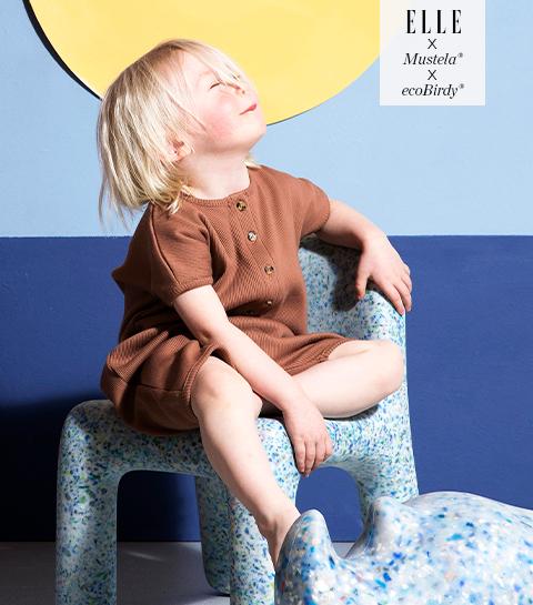Win het coole en duurzame design voor kinderen van Mustela® x ecoBirdy®