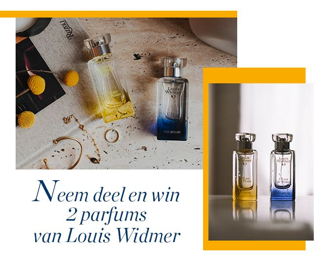 Beelden van de parfums Eau de Peau van Louis Widmer