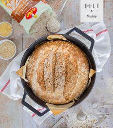 Recept: oergranenbrood gebakken in een stoofpot