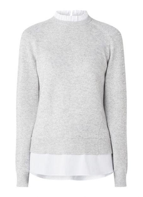 ted-baker-lissiah-fijngebreide-pullover-van-wol-met-blouse-inzet