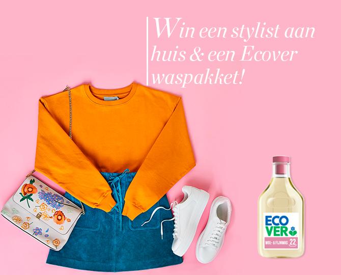 Win een stylist aan huis en een Ecover waspakket