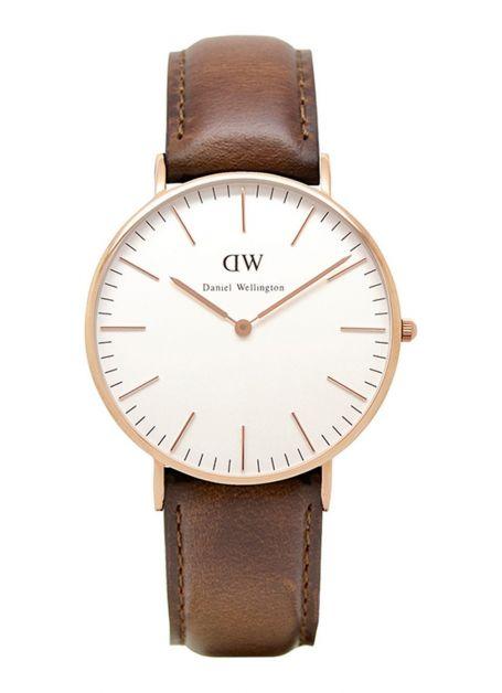 Horloge Classic Lady St Mawes, Daniel Wellington De Bijenkorf