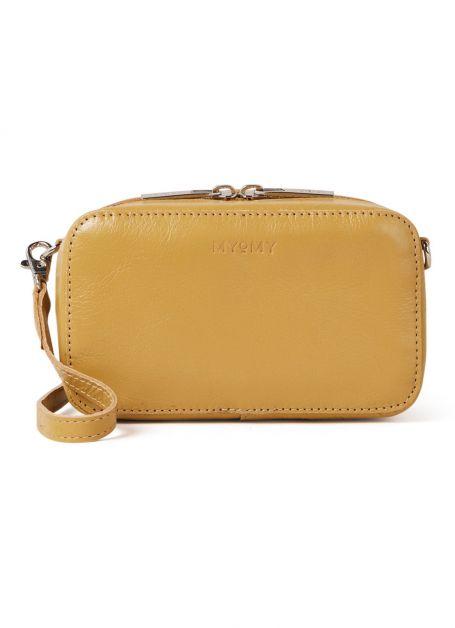 My Boxy Bag crossbodytas van leer, Myomy De Bijenkorf
