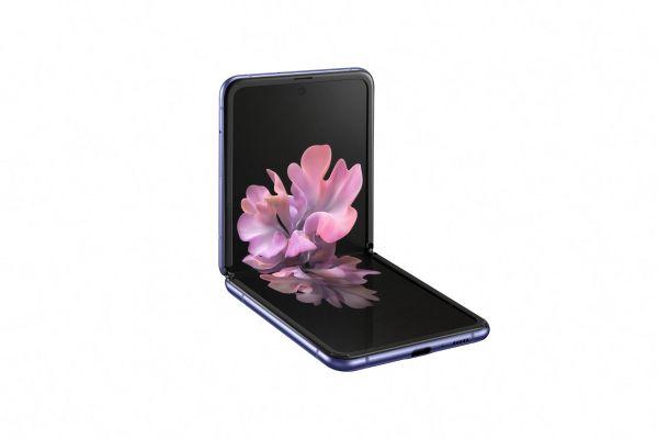 Samsung Galaxy Z Flip Purple Mirror