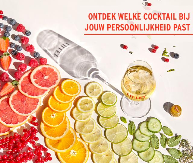 Ontdek welke cocktail bij jouw persoonlijkheid past