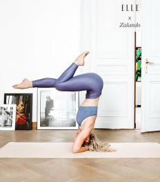 Celine Verbeeck bereidt je voor op de live yoga sessies van zondag 21 juni