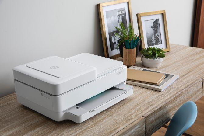 hp printer op het bureau